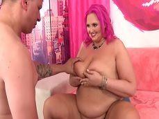 Casting porno amateur de una mujer gorda con su novio - Gordas