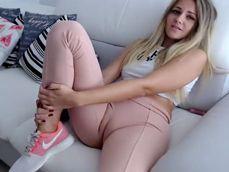 Menudo rajote marca con esas mallas del gimnasio .. !! - Cameltoe