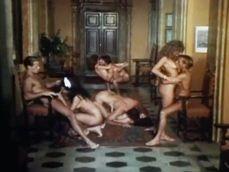 Maravillosa orgia de porno clásico con el gran Rocco Siffredi - Porno Clásico