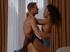 El marido de Demi Sutra demuestra quien manda en casa.. - Negras